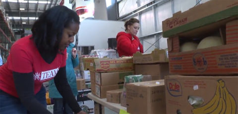 TEAM, Inc. helps with food pantry donations