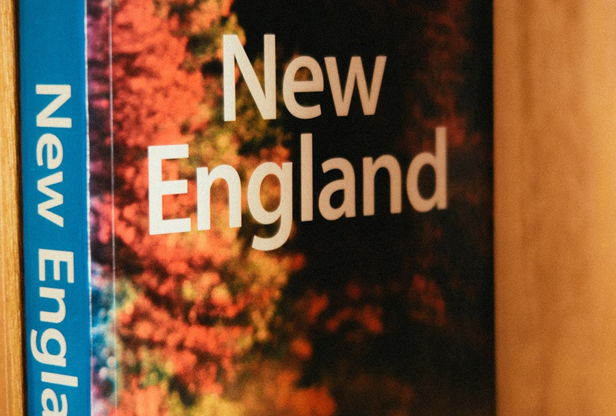 Book on New England